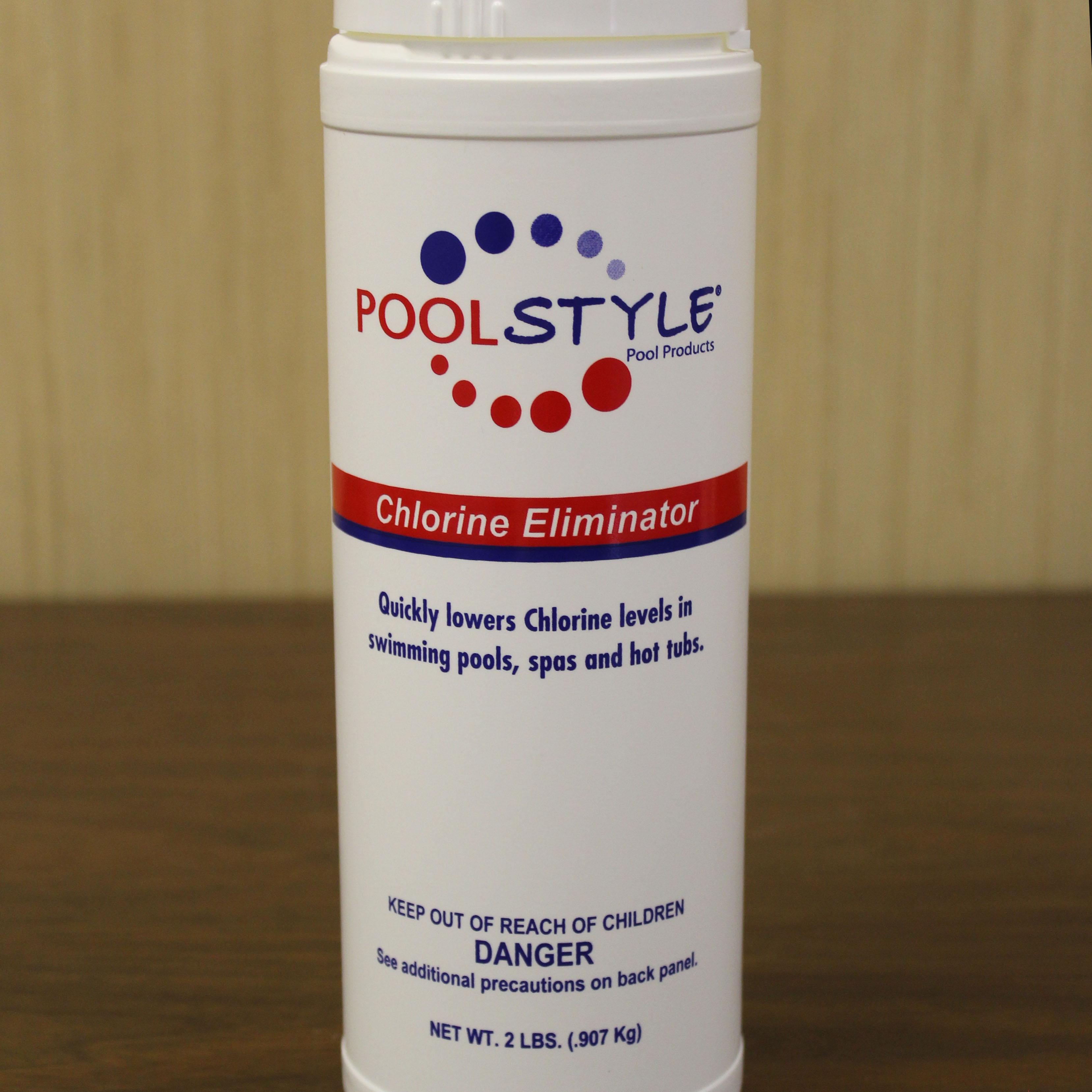 Pool Style Chlorine Eliminator Hudson Aquatic