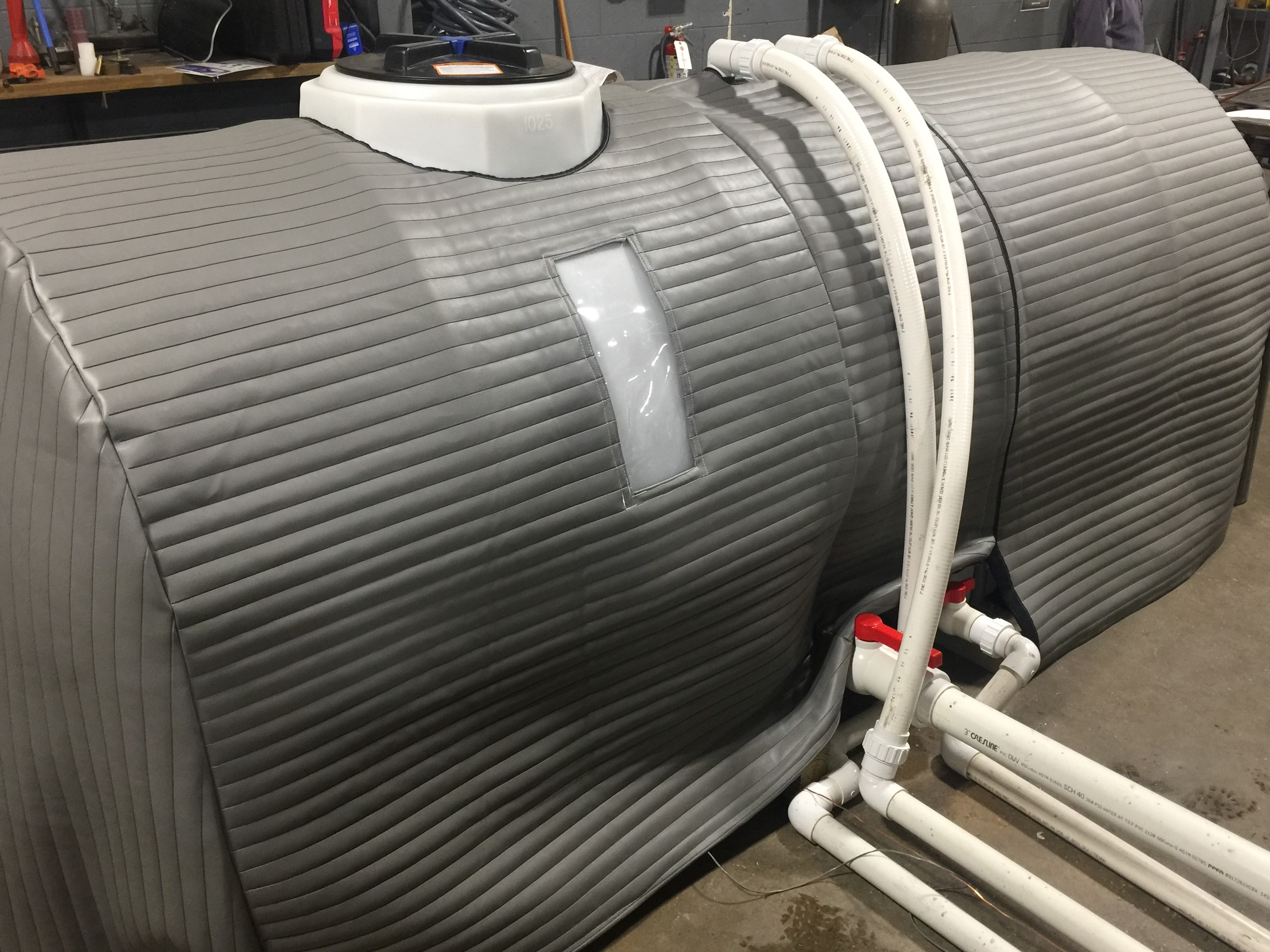 1 000 Gallon Insulated Tank Cover Hudson Aquatic