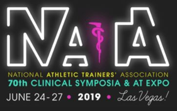 Hudson Attending the 70th Year of NATA Conventions