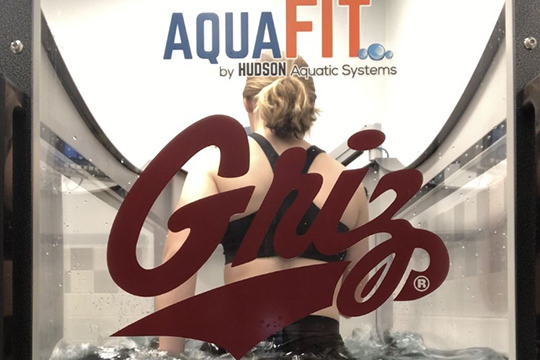 Aquatic Therapy Impacts Athletes at the University of Montana